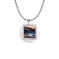 Stormy Twilight [framed] Button Necklace