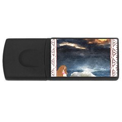 Stormy Twilight [Framed] 4GB USB Flash Drive (Rectangle)