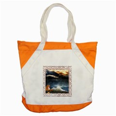 Stormy Twilight [Framed] Accent Tote Bag