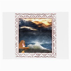 Stormy Twilight [Framed] Glasses Cloth (Large, Two Sided)