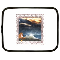 Stormy Twilight [Framed] Netbook Case (Large)