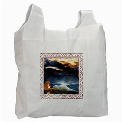 Stormy Twilight [Framed] Recycle Bag (One Side)