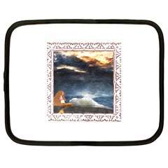 Stormy Twilight [Framed] Netbook Case (XL)