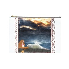 Stormy Twilight [Framed] Cosmetic Bag (Large)