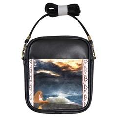 Stormy Twilight [framed] Girl s Sling Bag
