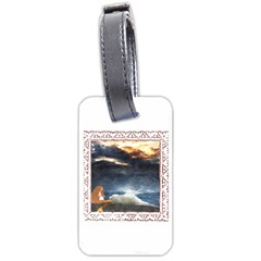 Stormy Twilight [Framed] Luggage Tag (Two Sides)
