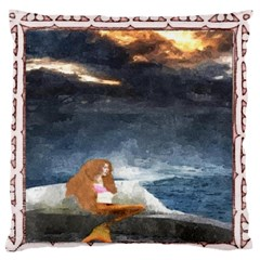 Stormy Twilight [Framed] Large Cushion Case (Two Sides)