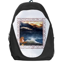 Stormy Twilight [Framed] Backpack Bag