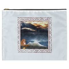 Stormy Twilight [framed] Cosmetic Bag (xxxl)