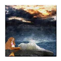 Stormy Twilight  Ceramic Tile