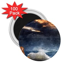 Stormy Twilight  2.25  Button Magnet (100 pack)