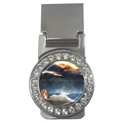 Stormy Twilight  Money Clip (cz)