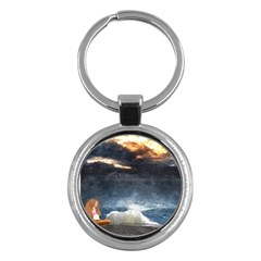 Stormy Twilight  Key Chain (Round)