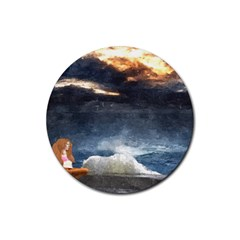 Stormy Twilight  Drink Coasters 4 Pack (Round)