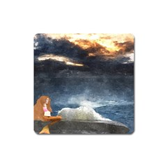Stormy Twilight  Magnet (Square)