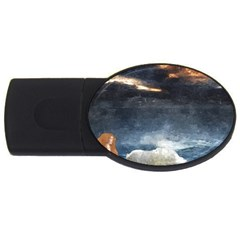 Stormy Twilight  1GB USB Flash Drive (Oval)
