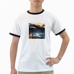 Stormy Twilight  Mens' Ringer T Shirt
