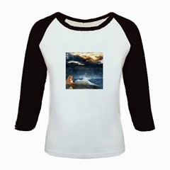Stormy Twilight  Women s Long Cap Sleeve T-Shirt