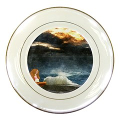 Stormy Twilight  Porcelain Display Plate