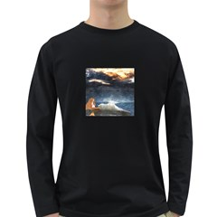 Stormy Twilight  Mens' Long Sleeve T-shirt (Dark Colored)
