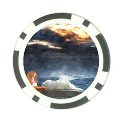 Stormy Twilight  Poker Chip