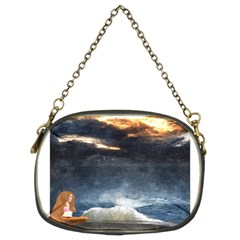 Stormy Twilight  Chain Purse (Two Side)