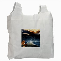 Stormy Twilight  Recycle Bag (One Side)