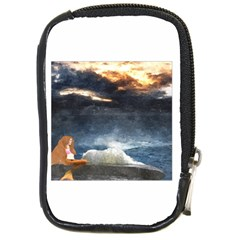 Stormy Twilight  Compact Camera Leather Case