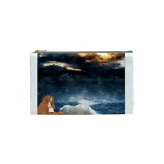 Stormy Twilight  Cosmetic Bag (Small)