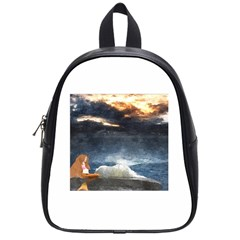 Stormy Twilight  School Bag (Small)