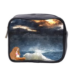 Stormy Twilight  Mini Travel Toiletry Bag (Two Sides)
