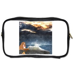 Stormy Twilight  Travel Toiletry Bag (one Side)