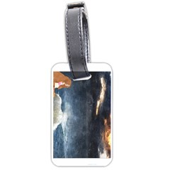Stormy Twilight  Luggage Tag (two Sides)