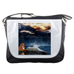 Stormy Twilight  Messenger Bag