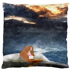 Stormy Twilight  Large Cushion Case (one Side)