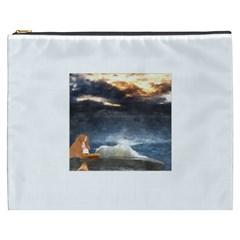 Stormy Twilight  Cosmetic Bag (XXXL)