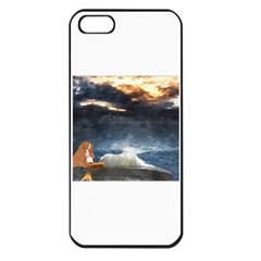 Stormy Twilight  Apple iPhone 5 Seamless Case (Black)