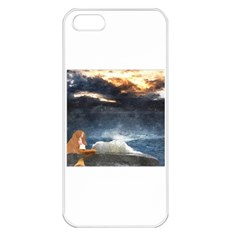 Stormy Twilight  Apple Iphone 5 Seamless Case (white)