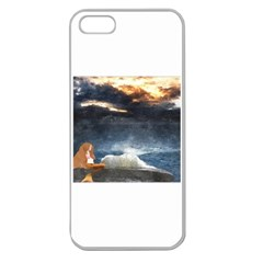 Stormy Twilight  Apple Seamless iPhone 5 Case (Clear)
