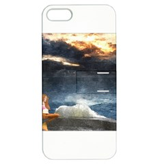 Stormy Twilight  Apple iPhone 5 Hardshell Case with Stand
