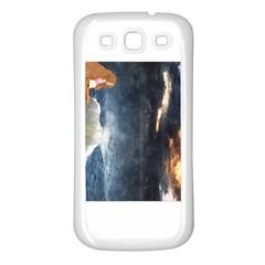 Stormy Twilight  Samsung Galaxy S3 Back Case (White)