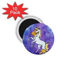 Unicorn II 1.75  Button Magnet (10 pack)