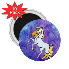 Unicorn II 2.25  Button Magnet (10 pack)