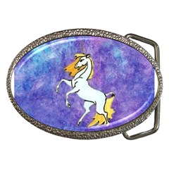 Unicorn II Belt Buckle (Oval)