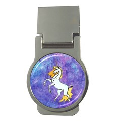 Unicorn II Money Clip (Round)