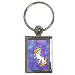 Unicorn II Key Chain (Rectangle)