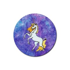Unicorn Ii Drink Coasters 4 Pack (round)