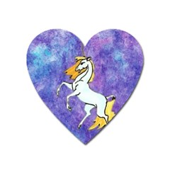 Unicorn Ii Magnet (heart)