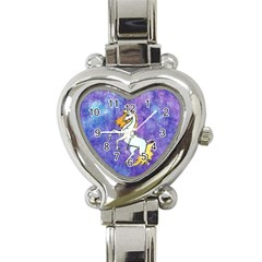 Unicorn II Heart Italian Charm Watch