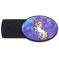 Unicorn II 4GB USB Flash Drive (Oval)